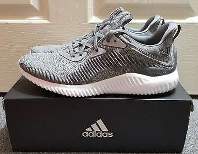 size 40 83659 f8fcd Adidas Alphabounce HPC AMS M Grey Mens Shoes Sz 11.5 (BY4327)