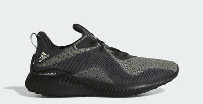 0e8aa649b9491 ADIDAS ALPHABOUNCE HPC AMS M Black Men s Running Shoes Sz 8 (DA9561 ...