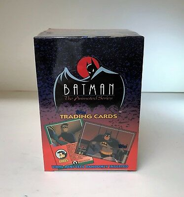 Batman The Animated Series 1 One - Sealed Trading Card Hobby Box - Topps 1993