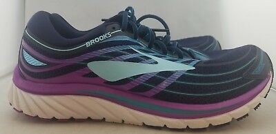 7ac7027d1fa Brooks Glycerin 15 Blue Purple Running Shoes Women s US Size 11.5 EUR 44 (B3