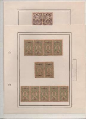 PORTUGAL: Revenue Examples - Ex-Old Time Collection - Album Page (15875)
