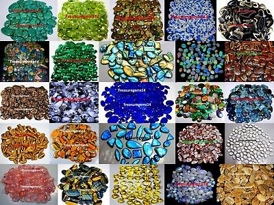 Wholesale Lot Top Quality 100% Natural Semi Precious Cabochon Loose Gemstones