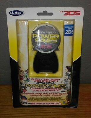 3DS CHEAT CODES Power Saves Action Replay Brand New SEALED By Datel BRAND  NEW