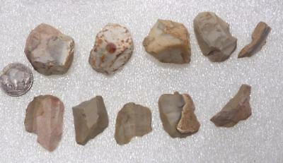 beautiful flint tool collection with micro tool cores Mesolithicum ca. 8000 BC