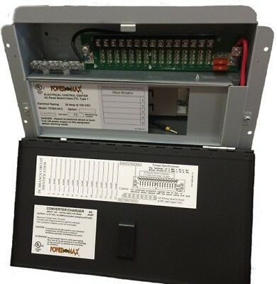 PPC-35 POWERMAX 35 AMP AC/DC DISTRIBUTION PANEL- Replacement for WFCO WF-8935