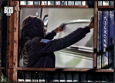 Digital Card Michonne Navy 'Alexandria' The Walking Dead Card Trader