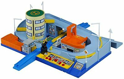 Tomy Tomica and Let's play! Auto railroad crossing station