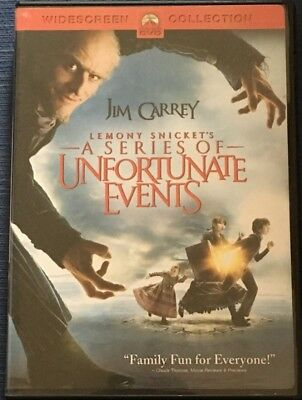 Lemony Snicket's A Series of Unfortunate Events (DVD, Full Screen)