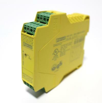 Phoenix Contact PSR-SCP-24DC/URM4/4X1/2X2/B Safety Relay