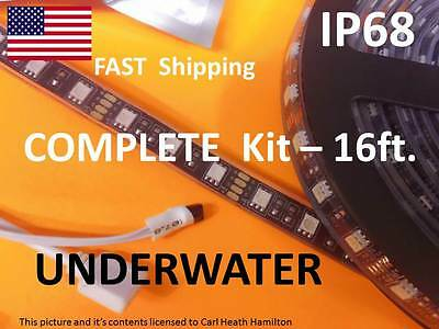 300 Underwater L.E.D. ---- Pond or Swimming Pool Lights --- 5050 RGB SMD - ip68