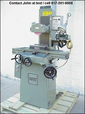 MHT Mitsui MSG-200MH, 6 x 12 Surface Grinder Walker Chuck Mitutoyo DRO Auto Lube