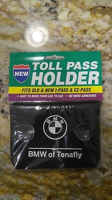 Brand New! BMW E-Z Pass or I-Pass Toll Tag Cover, Color Black