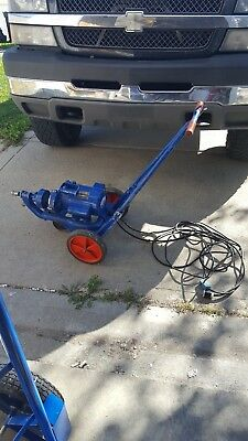 Electric Eel Sewer & Drain Cleaning Machine Model C Included cable & attachments