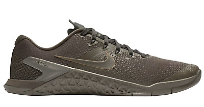 NEW NIKE METCON 4 Ridgerock/Metallic Pewter/Anthracite/Black