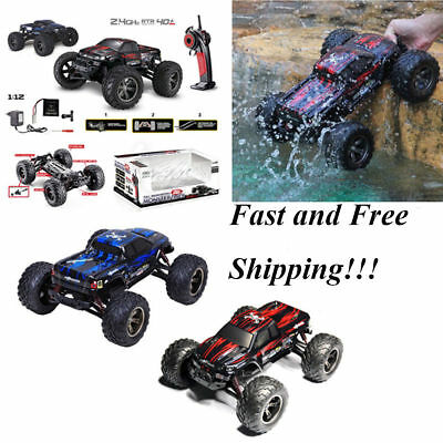 1:12 2.4G Remote Control 2WD Off-Road RACING Monster Truck High Speed RTR RC Car