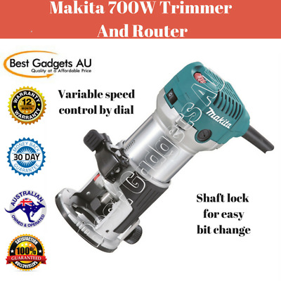 Makita 700W Trimmer And Router RT0700CX Variable Speed Control Cutting Tool