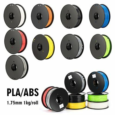 3D Printer Printing Filament ABS/ PLA 1.75mm 1kg/ roll Engineer Drawing Art AU