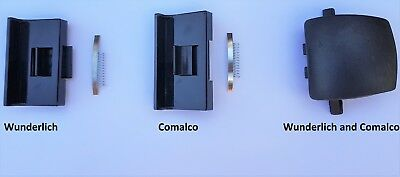 Sliding aluminium window lock latch handles Comalco, Wunderlich, Doric DS455