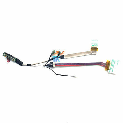 New Notebook Led Lcd Cable For Lenovo X60t X61t 93p4507 Screen Lvds Video Flex Ribbon Connector Computer & Office