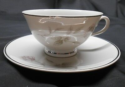 Aladdin China PROMISE Coffee / Tea Cup & Saucer Made in USA