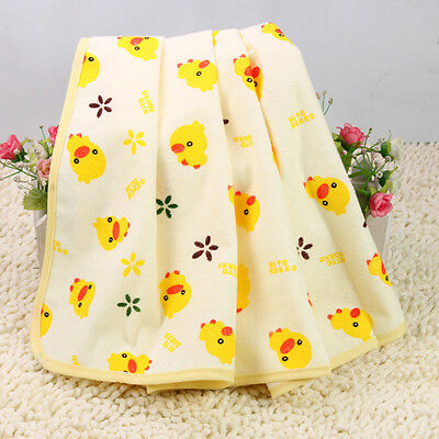 60*70 Infant Baby Home Travel Pure Cotton Diapers Mat Waterproof Change,