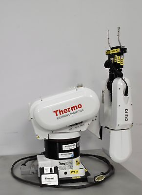Thermo Electron CRS F3 Articulated 6-Axis Robot Arm Cable and Stand