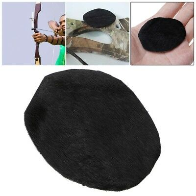 Arrow Rest Fur Skin Recurve Bow Archery Traditional Hunting Longbow Accessories