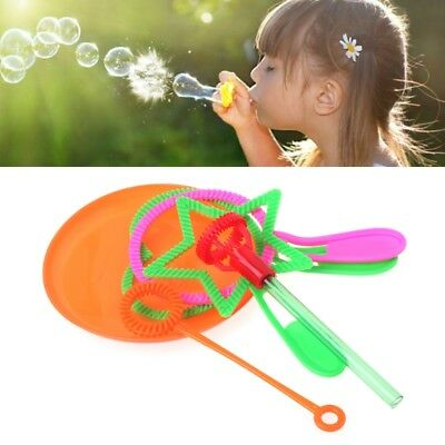 6pcs Blowing Bubble Soap Tools Toy Bubble Sticks Set Outdoor Toy Kids Toy Hot