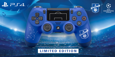 Sony DUALSHOCK 4 Wave Blue *Limited Edition* Champions League Controller
