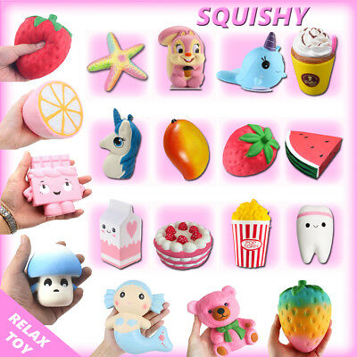 Jumbo Slow Rising Squishies Scented Squishy Squeeze Toy Stress Reliever Relief
