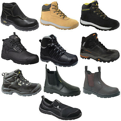 4838ba765175 Delta Plus Safety Work Boots Shoes Trainers Hiker (Various Styles) Black Tan