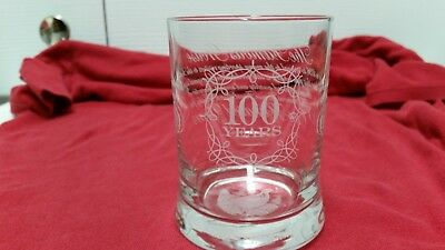 The Famous Grouse 100 Year Anniversary Rock Drink glass