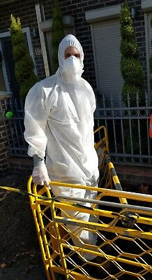 Asbestos Protective Suit - SMS Type 5/6 - Disposable BOX OF 50