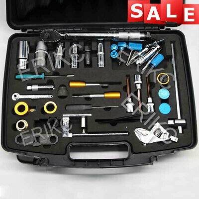 ERIKC Common Rail Injector Remove Tools 40 Pieces Injection Dismantling Tool