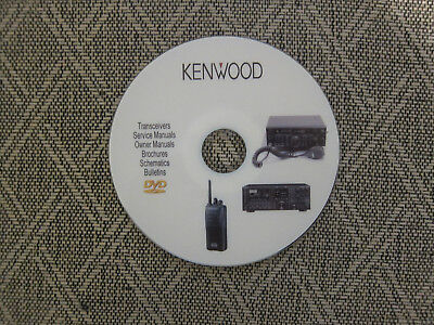 kenwood radio transceivers audio service owner manuals on 2 dvd in rh picclick com kenwood radio owners manual ts-590s Kenwood Car Radio CD Player Manual