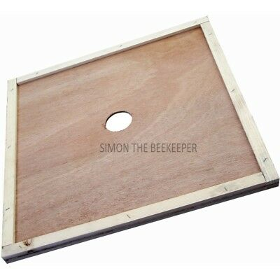 Beekeeping British National Polyhive Central Hole Crown Board- 500 mm²