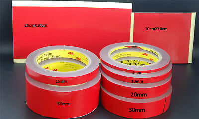 3M™ VHB™ Tape 4611 waterproof,constructions,metal work, heavy duty,1.1mm thick