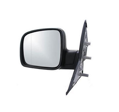 Left Wing Mirror Vw Transporter Multivan T5 2003-2009 Black Manual LHD only!