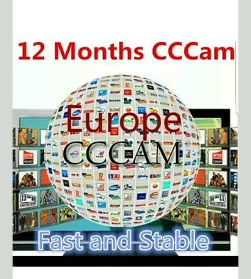 Cccam 4 clines12 Monate sehr stabil