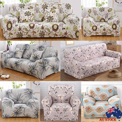 Stretch Couch Sofa Lounge Covers Recliner 1 2 3 4 Seater Dining Chair Covers HP