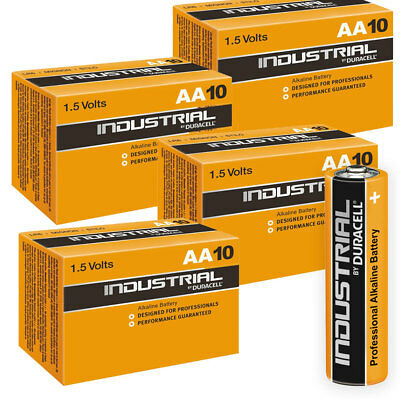 40 Duracell Industrial AA Alkaline Batteries Replaces Procell MN1500 1.5V LR6
