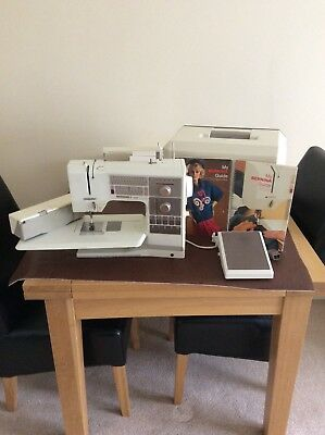 Bernina 1130 computarised sewing machine. sews beautifully