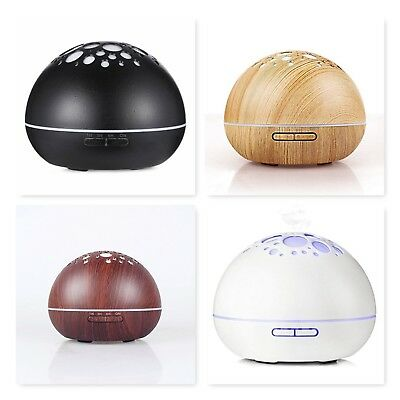 Essential Oil Diffuser 300ml Aromatherapy Portable Fresh Aroma Yoga LED & Timer