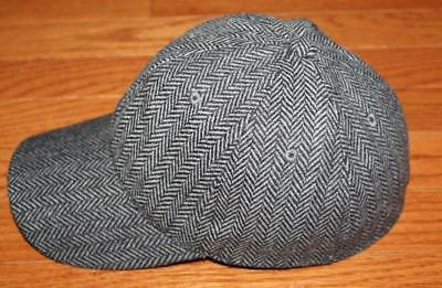 96f42ce53af NWT Brooks Brothers Fitted Baseball Hat Cap Golden Fleece Logo Herringbone   H4