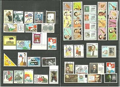 (T6-1-2)Single stamps editions or small full sets,music,ship,computers,art,MNH