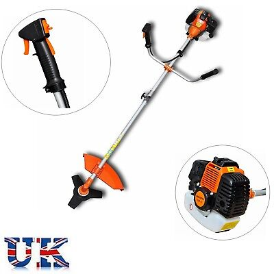 52cc Petrol Garden Brush Cutter, Patio Grass Trimmer 2.2KW 3HP Two-stroke