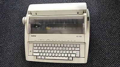 Brother AX-100 Electric Typewriter, Working