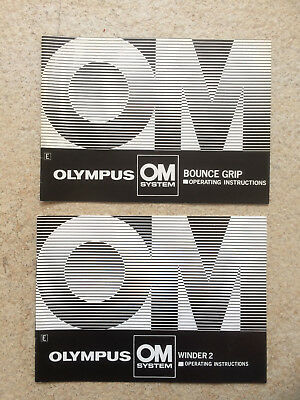 Olympus  instructions Winder 2 +bounce grip