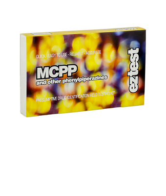 EZ TEST KIT FOR PIPERAZINES: MCPP AND TFMPP (10 pack)