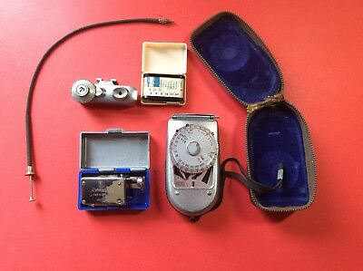 Five Items Of Photographic Equipment. Vintage.